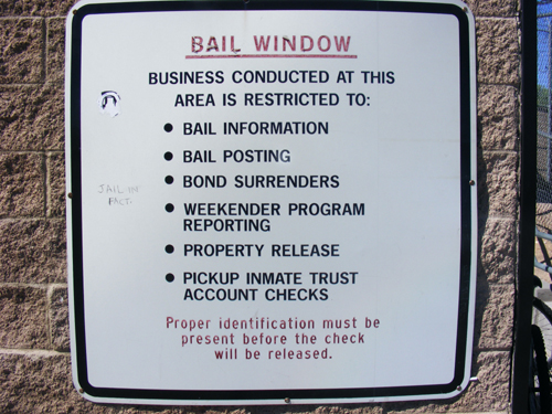 Bail Window Rules at the Las Vegas Detention Centers