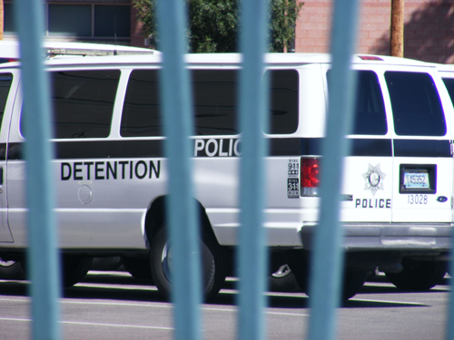 Las Vegas Detention Centers Van