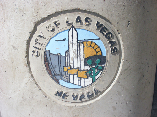 City of Las Vegas Logo at the Detention Centers