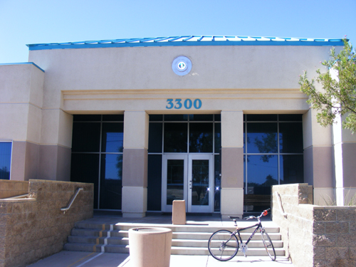 Front Door of the City of Las Vegas Detention Centers - 3300 E. Stewart Ave. Las Vegas, NV